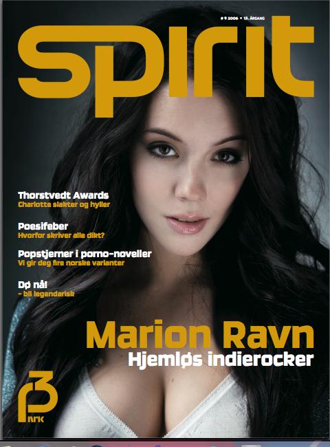 Spirit Magazine Cover