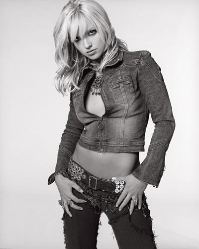 Britney Black White