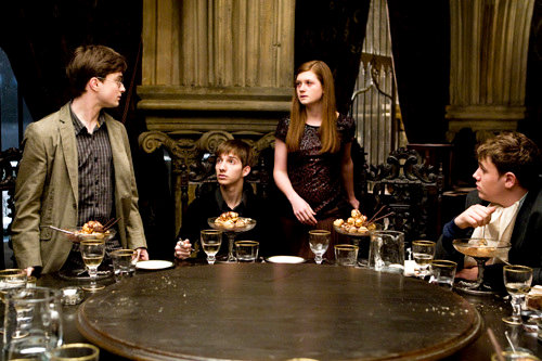 Slughorn's dinner party