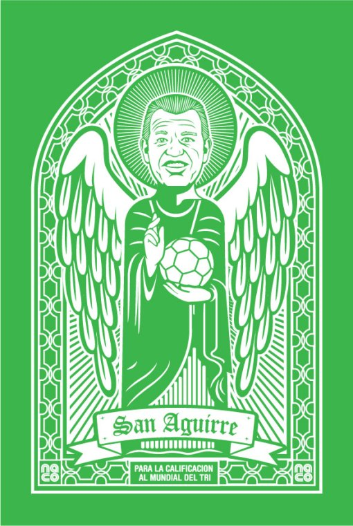 Mi poster de San Aguirre, que estará entre el Halo 3 con un Master Chief gigante y el de Palyboy de Fabiola Campomanes en micro-tanga