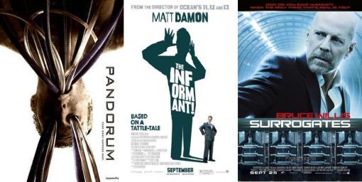 Pandorum, The Informant!, Surrogates