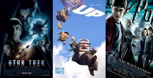Star Trek, Up, Harry Potter 6