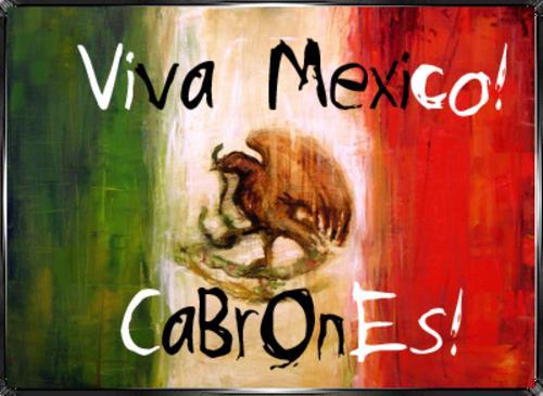 Viva México cabrones!